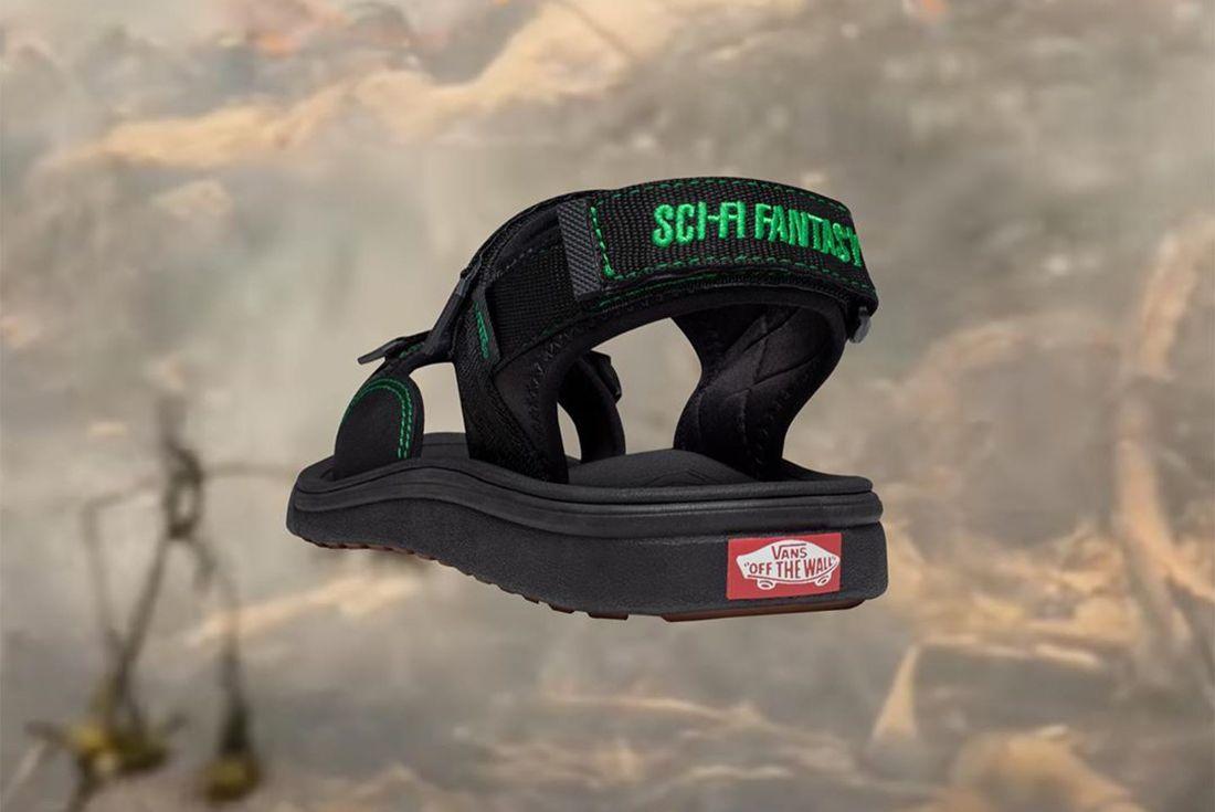 Sci-Fi Fantasy Vans Tri-Lock Sandal Heel