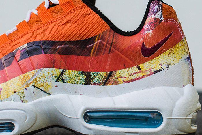 Dave White Nike Air Max 95 Dw Albion Orange 4