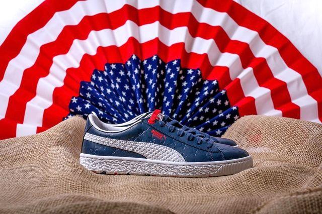 Puma Basket Independence Day Pack Navy 4