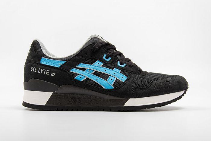 Asics Gel Lyte Iii Metro Pack Blackatomic Blue