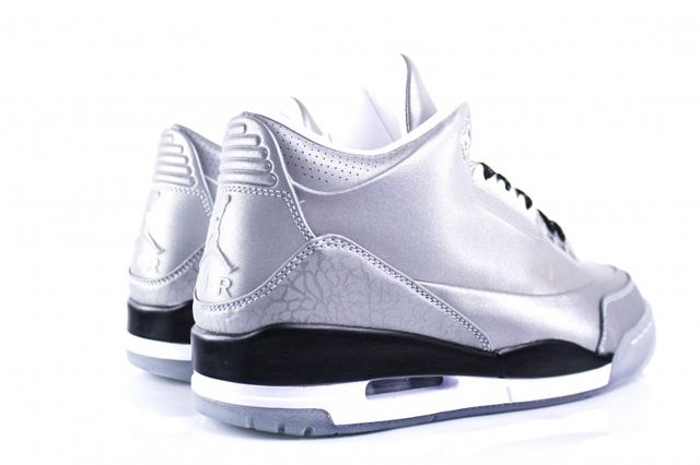 Air Jordan 3 5Lab3 Metallic Silver 4