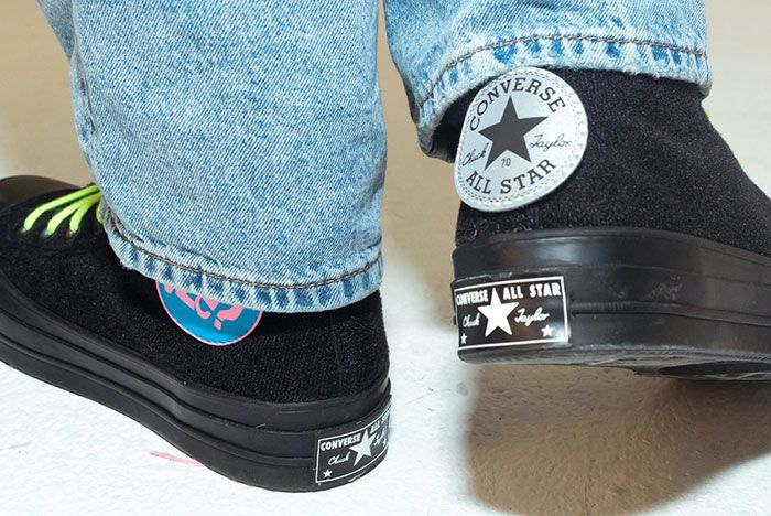 Size Converse Chuck 70 Patches Black Heel