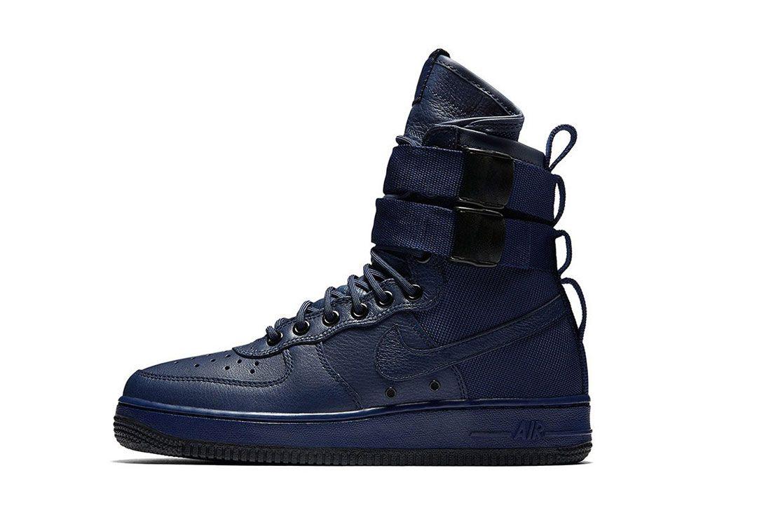 Nike Sf Air Force 1 Wmns Binary Blue
