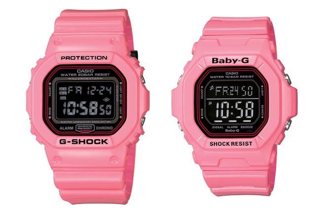 G Shock November Lovers Pink 1