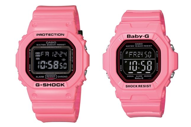 G Shock November Lovers Pink 1