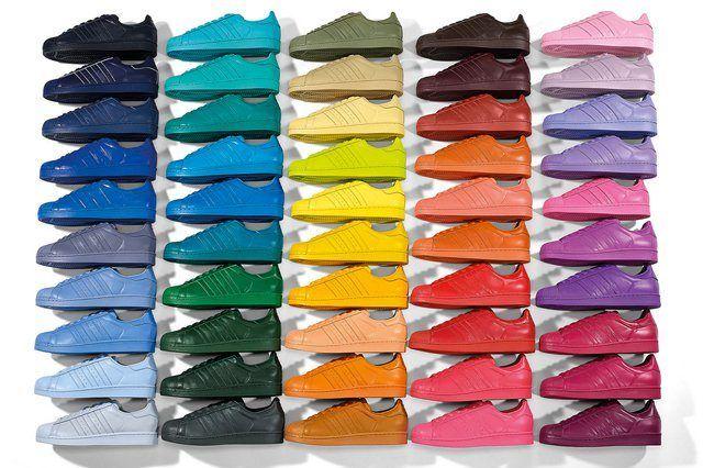 Adidas Superstar Supercolor Full Range 3