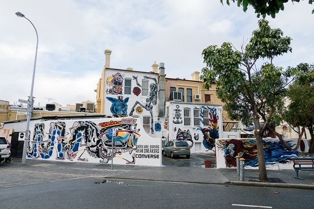 Converse Sneakers Clash Wall Fremantle 5
