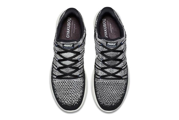 Nike Gyakusou Lunarepic Flyknit Low 2 Black White 1