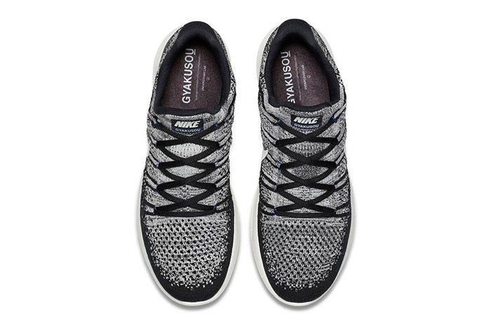 Nike Gyakusou Lunarepic Flyknit Low 2 Black White 1