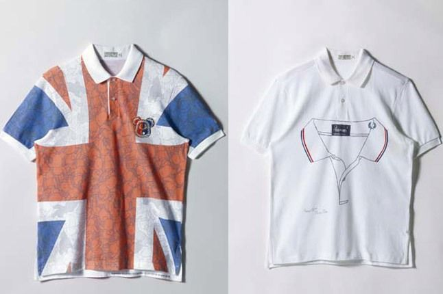 Medicom Bearbrick And Horace Panter Custom Fred Perry Shirts 1