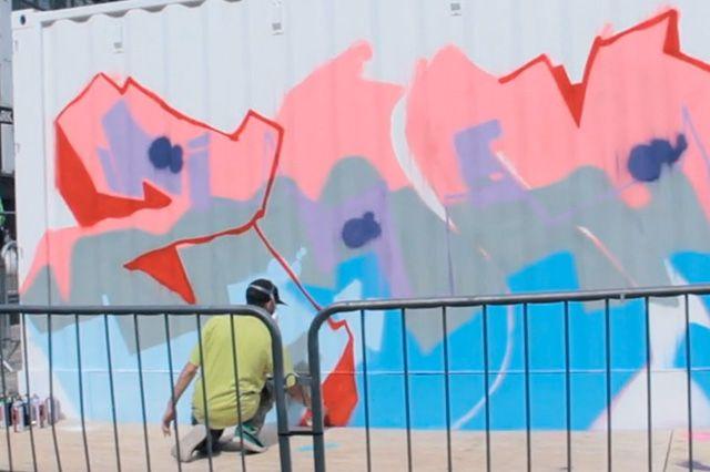 Boxpark Live Graffiti Zombie Dyet Dds 4