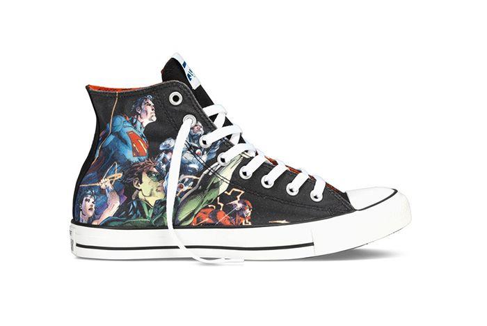 Dc Comics X Converse Chuck Taylor All