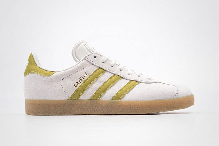 Adidas Gazelle White Gold Gum Thumb