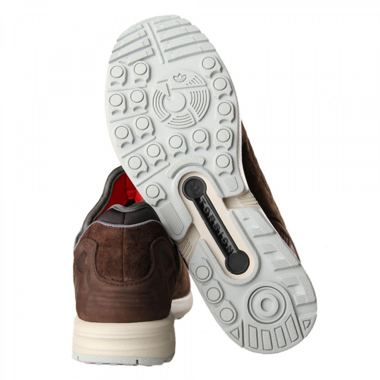 Adidas Originals Zx Flux Nps Brown 3
