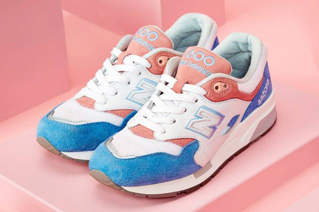 New Balance 1600 Marshmallow Blue Pink Thumb