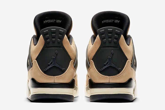 Air Jordan 4 Mushroom Aq9129 200 2019 Release Date 5 Heel