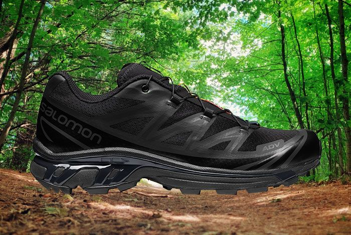 Salomon Xt 6 Adv Ltd Black Lateral