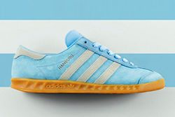Adidas Originals Hamburg Frost Blue Thumb