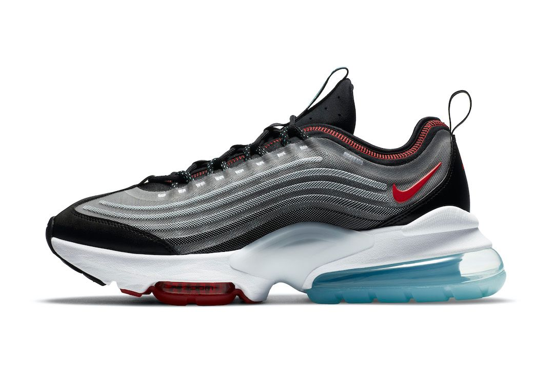 Nike Air Max ZM950 Silver Left