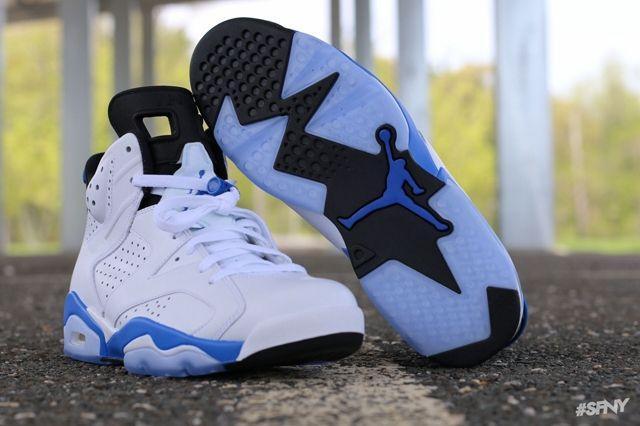 Air Jordan 6 Sport Blue 6