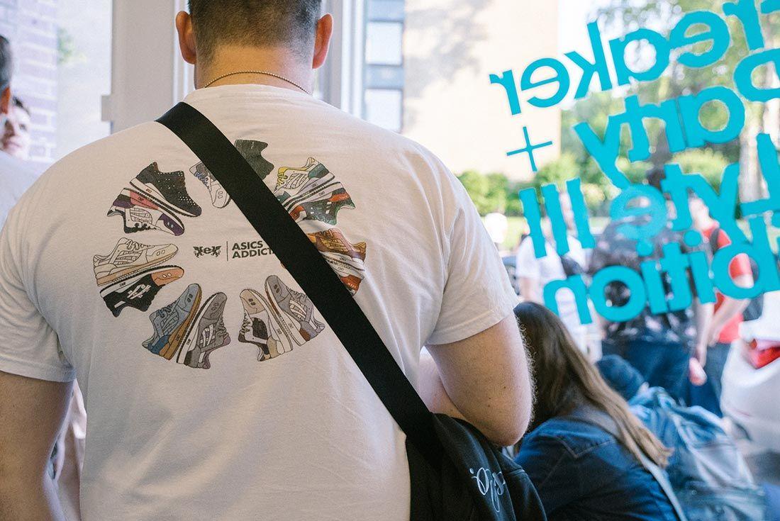 Allike Asics Sneaker Freaker Event Recap Asics T Shirt