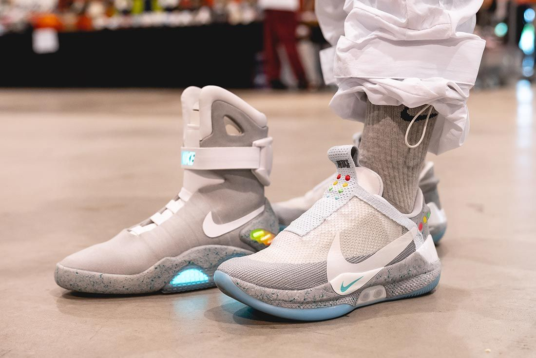 Sneakerness Paris Air Mag Hyperadapt