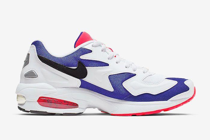 Nike Air Max 2 Light Purple Crimson Inside