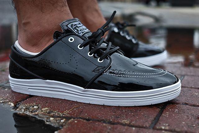 85 Ive2 X Nike Sb Linar Stefan Janoski Black White 4