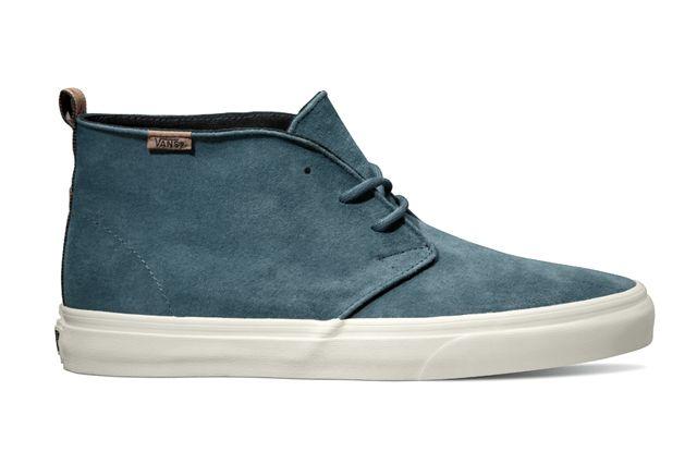 Vans California Collection Chukka Decon Ca Suede Mallard Blue Holiday 2013