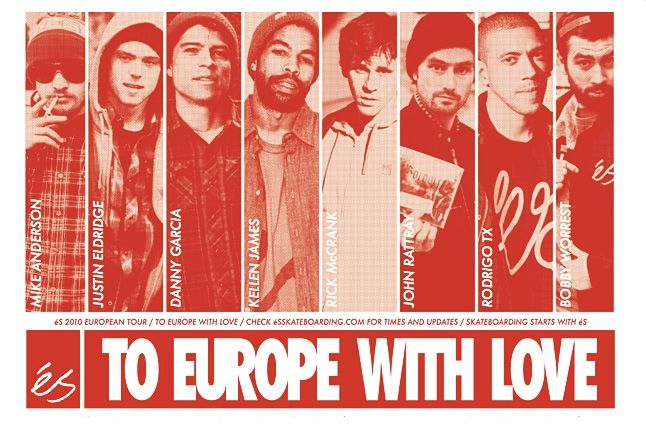 To Europe With Love 1
