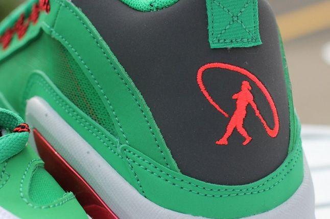 Nike Air Diamond Griff 360 Watermelon Heel Detail 1