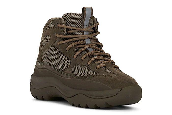 Yeezy Season 7 Military Boot Brown Toe