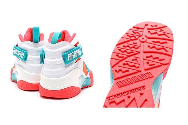 Nike Air Raser Laser Crimson Bump 3