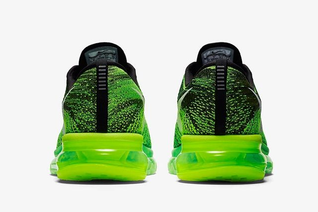 Nike Flyknit Air Max Voltage Green 4