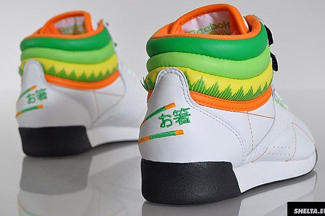 Reebok Freestyle Hi Sushi International 7 1
