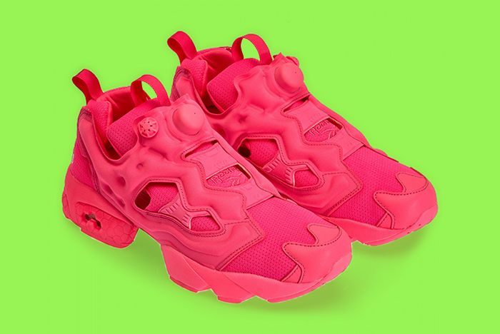 Vetement Reebok Neon Pump Pink 2 Copy