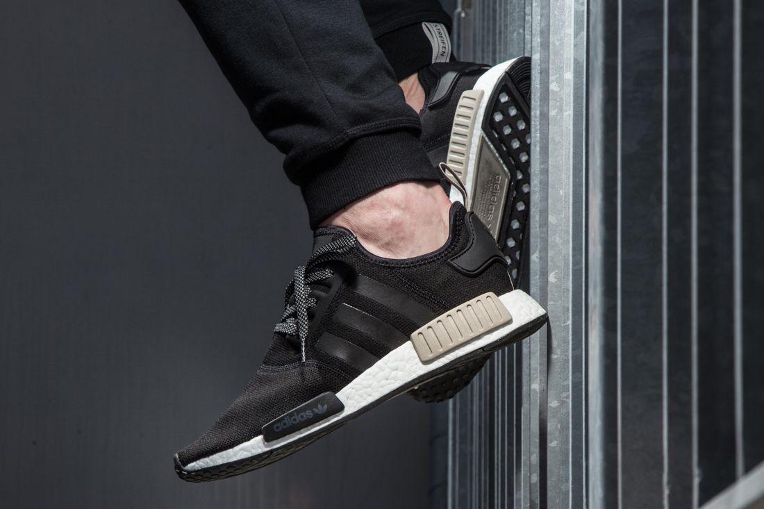 Adidas Nmd R1 Foot Locker Exclusive Black Light Brown2