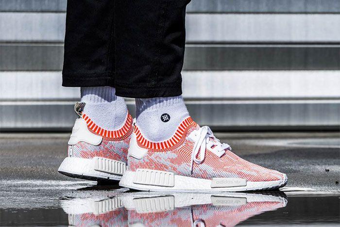 Adidas Nmd R1 Glitch Camo Orange Ba8599 3 Sneaker Freaker