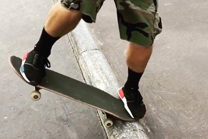 Skating In Nmds