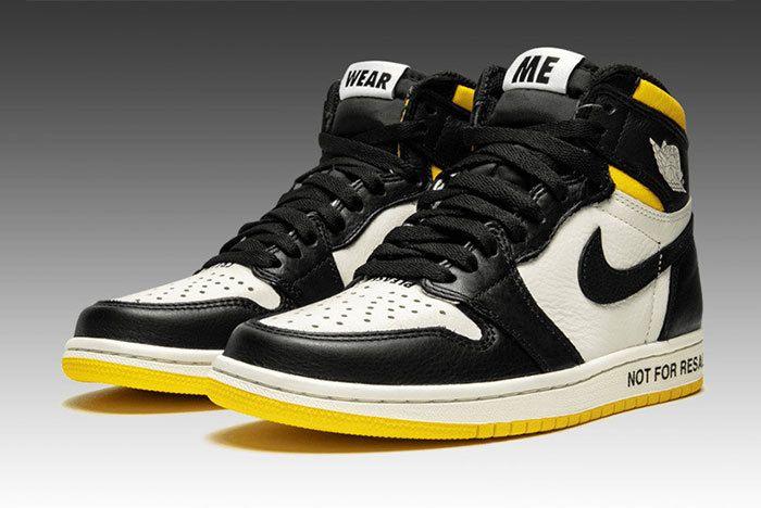 Jordan 1 Not For Resale Yellow 861428 107