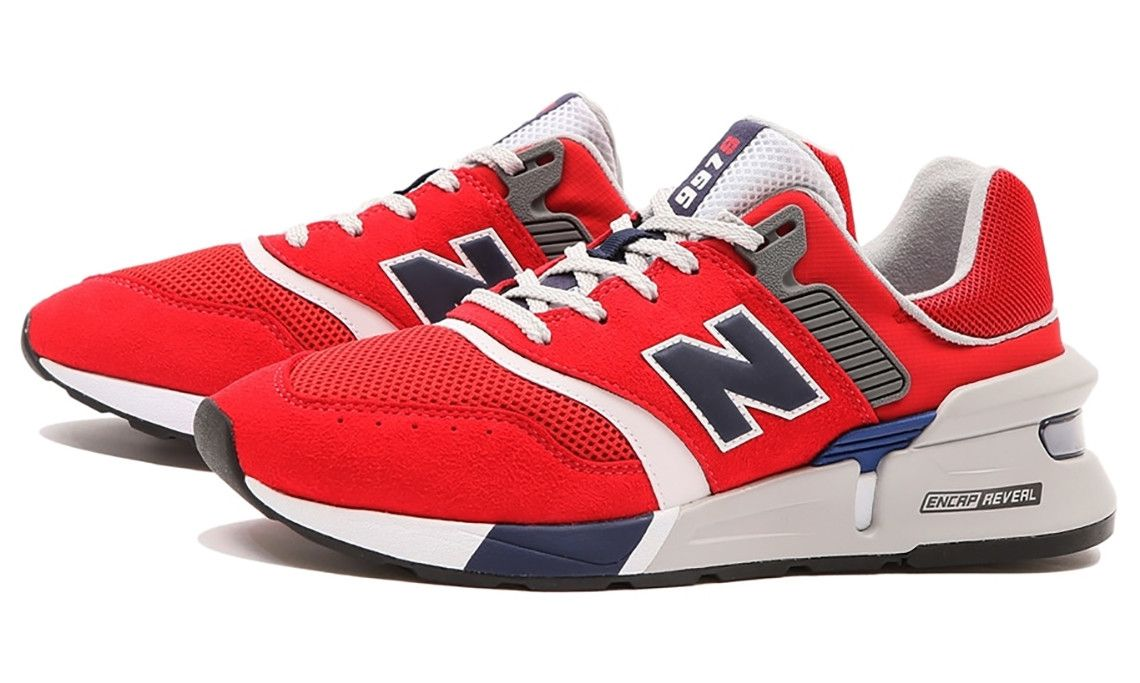 New Balance 997S Red, Navy, Grey