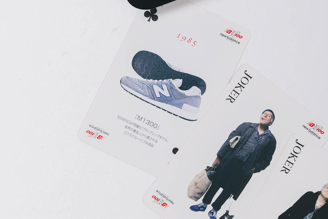 2006 New Balance 1300 Jp Playing Cards