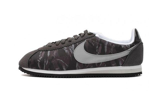 Nike Cortez Prm Tiger Camo Pack Black 1