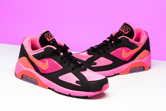 Comme Des Garcons Nike Air 180 Pink 5