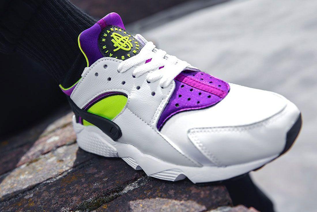 Nike Air Huarache Magenta JD Sports