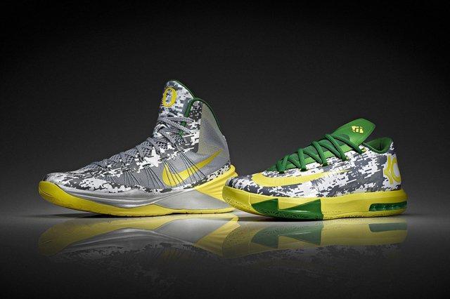 Nike Ducks Hoyas Bball Hyper Kd Vi Duck Toe
