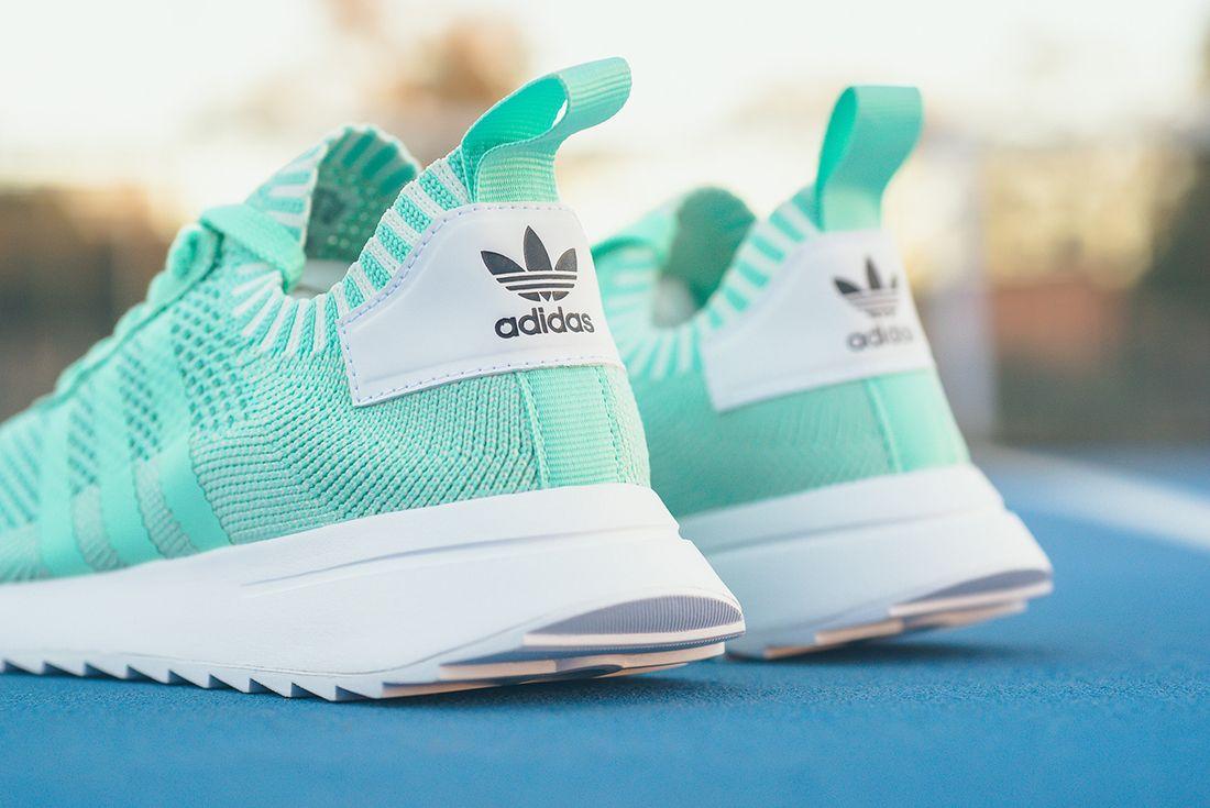 Adidas Flashback Primeknit Wmns Easter Green 5
