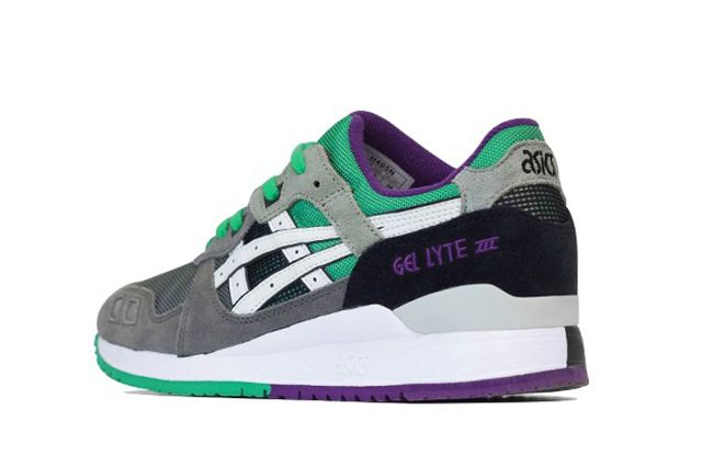 Asics Gel Lyte Iii Green Purple 41