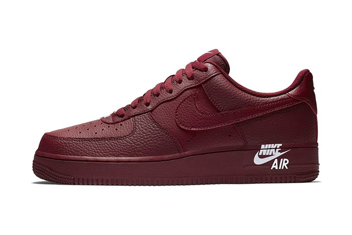 Nike Air Force 1 Low Sail Team Red New Branding 5