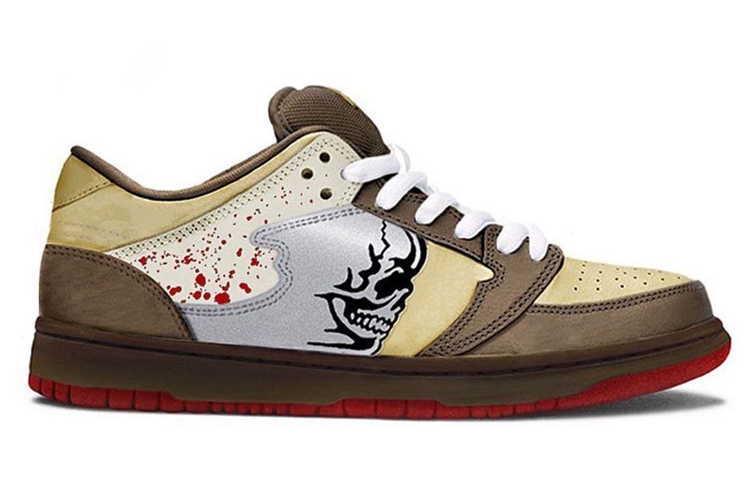 Warren Lotas reaper chainsaw sneaker